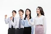 한국인, 비즈니스, 채용 (고용문제), 취업준비생 (역할), 성공, 구직, 성취, 성취 (성공), 파이팅 (흔들기), 자신감, 성공 (컨셉)