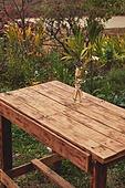 사진, 정원, 테이블, 사람없음, 계절, 가을, 디퓨저, 드라이플라워, 꽃, 잎