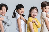 어린이 (나이), 감기 (질병), 예방접종 (주사), 소녀, 소년
