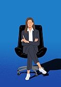 여성 (성별), 비즈니스, 비즈니스우먼, 성공, CEO