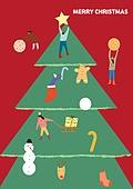연례행사 (사건), 상업이벤트 (사건), 크리스마스 (국경일), 겨울, 크리스마스트리 (크리스마스데코레이션), 선물 (인조물건)