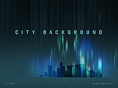 파워포인트, 메인페이지, 도시, 고층빌딩 (회사건물), 빛 (자연현상) 강렬한빛 (발광), 직선, 백그라운드, 비즈니스