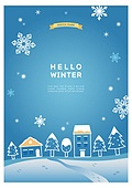 일러스트, 이벤트페이지, 겨울, 눈 (얼어있는물)
