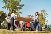 라이프스타일, 공원, 한강공원 (서울), 소풍 (아웃도어), 소풍, 휴양 (컨셉), 한국인, 돗자리