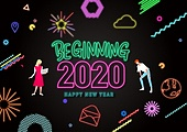 연례행사 (사건), 상업이벤트 (사건), 새해 (홀리데이), 네온, 연말, 2020년