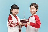 어린이 (나이), 겨울, 생일, 파티, 미소, 밝은표정