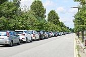 자동차, 주차, 도로 (길)