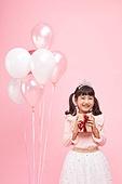 어린이 (나이), 분홍 (색상), 파티, 생일, 소녀
