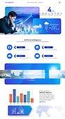 웹템플릿, 홈페이지, 메인페이지 (이미지), 레이아웃, 5G, 4차산업혁명 (산업혁명), 비즈니스, 인공지능, 혁신, 발전 (컨셉), 비즈니스맨, 남성