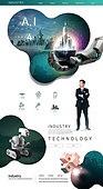 웹템플릿, 홈페이지, 메인페이지 (이미지), 레이아웃, 5G, 4차산업혁명 (산업혁명), 비즈니스, 인공지능, 혁신, 발전 (컨셉), 비즈니스맨, 여성, 로봇팔 (로봇)