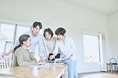 남성, 사무실 (업무현장), 설계도 (플랜), 건축가 (창조적직업), 비즈니스미팅 (미팅)
