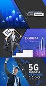 웹템플릿, 메인페이지 (이미지), 레이아웃, 그리드 (패턴), 한국인, 비즈니스, 4차산업혁명 (산업혁명), 5G, 빛효과, 컴퓨터네트워크 (컴퓨터장비), 자료 (정보매체), 산업