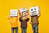 어린이 (나이), 상자, 캐릭터