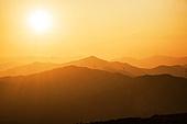 자연 (주제), 산, 자연풍경, 산림, 드론촬영 (카메라앵글), 항공촬영, 일몰 (땅거미)