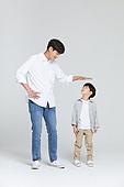 아빠, 소년, 아들, 가족, 사람키 (Human Size), 성장, 미소