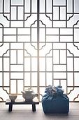스튜디오촬영, 명절 (한국문화), 설 (명절), 추석 (명절), 선물 (인조물건), 선물상자, 선물세트, 기념일, 포장, 한국전통, 전통문화, 한국문화, 한국 (동아시아), 천, 백그라운드, 보자기 (한국문화), 한국전통문양 (패턴), 창문, 문틀 (문), 역광, 쟁반 (주방용품)
