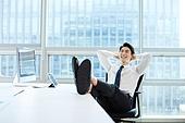 한국인, 사무실, 비즈니스, 노동자 (직업), 화이트칼라 (전문직), 휴식, 기쁨 (컨셉), 성공