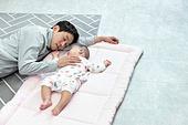 아빠, 자식 (가족), 피로 (물체묘사), 아들, 아기 (나이), 잠