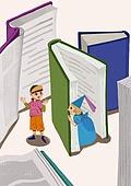 어린이 (나이), 상상력 (컨셉), 환상 (컨셉), 몽상 (정지활동), 책, 동화, 그림책 (책)