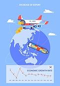 글로벌, 화물운송 (운수), GDP, 비즈니스, 성장, 쇠퇴 (컨셉), 지구 (행성)