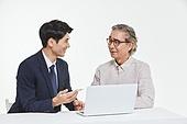 한국인, 비즈니스, 설명, 안내 (컨셉), 영업사원 (판매업), 보험설계사 (금융직), 커뮤니케이션, 판매업, 전문직