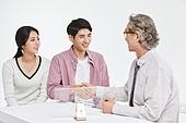 한국인, 비즈니스, 변호사, 보험설계사 (금융직), 조언 (컨셉), 설명 (대화), 조언
