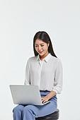 사진, 한국인, 비즈니스, 화이트칼라 (전문직), 노트북컴퓨터 (개인용컴퓨터), 보험설계사 (금융직)