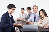 한국인, 비즈니스, 비즈니스 (주제), 비즈니스맨 (사업가), 미팅, 토론, 팀워크, 비즈니스미팅, 팀워크 (협력), 대화, 커뮤니케이션