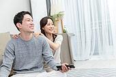 부부, 신혼부부 (부부), 휴식, 위로, 마사지 (만지기), 행복