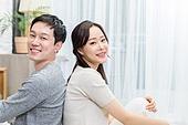 라이프스타일, 부부, 신혼부부 (부부), 커플, 웃음 (얼굴표정)