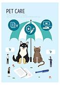동물, 반려동물, 캐릭터, 펫보험 (보험), 돌보기 (컨셉), 동물병원, 애완견 (개), 개 (개과), 고양이 (고양잇과), 보험 (주제)