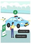 환경, 환경보호 (환경), 대체에너지, 전기자동차