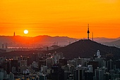 Sunrise in Seoul