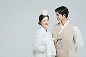 한복, 전통문화, 신혼부부, 부부, 결혼, 결혼 (사건), 웨딩드레스 (드레스), 결혼식