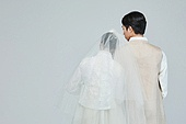 한복, 전통문화, 신혼부부, 부부, 결혼