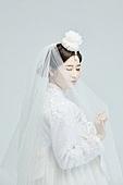 한복, 결혼, 신부 (결혼식역할), 드레스
