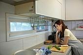 여성, 스트레스, 산후우울증 (질병), 가정주방 (주방)