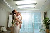 아기 (나이), 엄마, 돌보기 (컨셉), 육아맘, 신생아 (0-1개월), 스트레스, 짜증, 울음 (얼굴표정)
