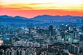 대한민국 (한국), 도시, 도시풍경, 서울 (대한민국)