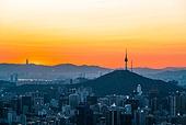 대한민국 (한국), 도시풍경, 서울 (대한민국), 남산 (서울), 남산서울타워 (서울)