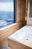호텔, 욕조, 욕실