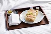 호텔, 호캉스, 침실, 아침, 아침식사 (식사), 서비스