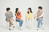 한국인, 대학생, 청년 (성인), 라이프스타일, 네명 (여러명[3-5])