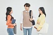 한국인, 대학생, 청년 (성인), 라이프스타일, 신입생, 취업준비생, 캠퍼스, 대화