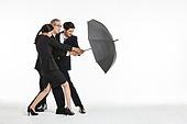 비즈니스, 비즈니스 (주제), 금융, 보험 (주제), 우산 (액세서리), 보호, 보호 (컨셉), 수비 (스포츠활동), 방어벽 (수비), 저지하기 (홀딩), 협력, 팀워크
