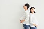 아내 (가족구성원), 커플 (인간관계), 임신 (물체묘사), 불만, 스트레스