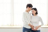 아내 (가족구성원), 커플 (인간관계), 임신 (물체묘사), 하트 (컨셉심볼)