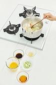 가정주방 (주방), 음식재료 (음식), 요리하기 (음식준비), 레시피, 만두 (한식), 끓이기 (상태), 가스스토브버너 (생활용품)