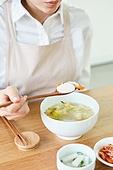 가정주방 (주방), 음식재료 (음식), 요리하기 (음식준비), 레시피, 만두 (한식), 식사
