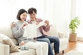 커플, 임신, 미소, 행복, 유아용품, 배냇저고리 (유아용품)